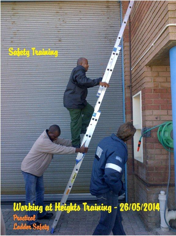 Working At Heights Practical Ladder Safety Standbysystems